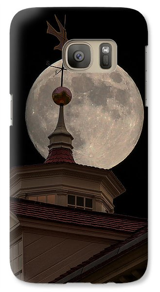 Moon Over Mount Vernon Galaxy S7 Case