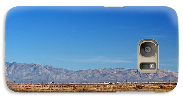 Galaxy Case featuring the photograph Moon Rising by Barbara Manis
