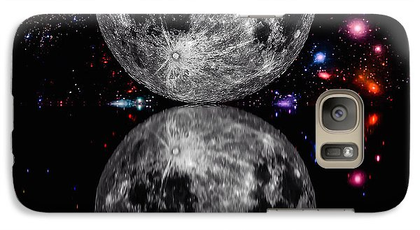 Galaxy Case featuring the photograph Moon River by Naomi Burgess