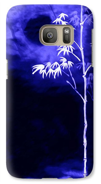 Galaxy Case featuring the painting Moonlight Bamboo by Lanjee Chee