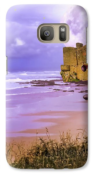 Galaxy Case featuring the photograph Moonlight Dragon Attack by Diane Schuster