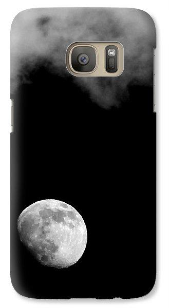 Galaxy Case featuring the photograph Moonlight by Karen Musick