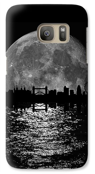 Moonlight London Skyline Galaxy S7 Case
