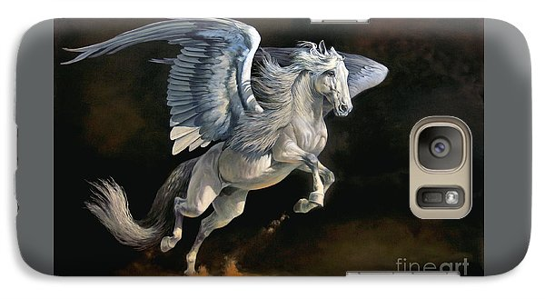 Pegasus Galaxy S7 Case - Moonlight Magic by Jeanne Newton Schoborg