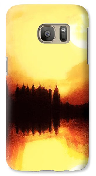 Galaxy Case featuring the digital art Moonlight-sonata  by Fine Art By Andrew David