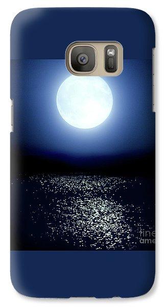 Moonlight Galaxy S7 Case by Tatsuya Atarashi