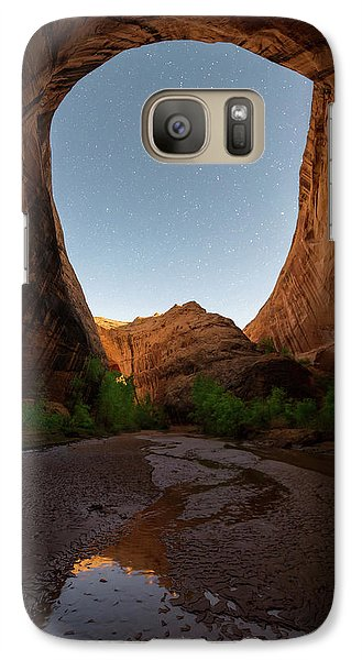 Galaxy Case featuring the photograph Moonrise At Coyote Gulch by Dustin LeFevre