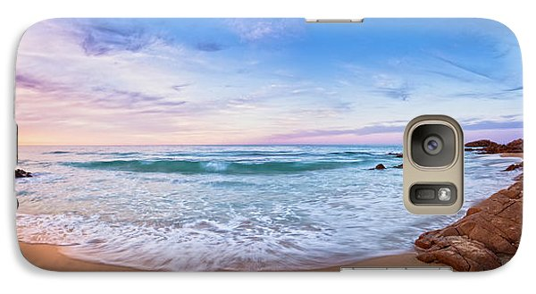 Galaxy Case featuring the photograph Bunker Bay Sunset, Margaret River by Dave Catley