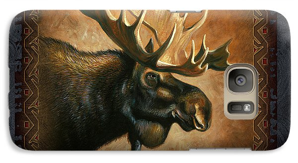 Wildlife Galaxy S7 Case - Moose Lodge by JQ Licensing