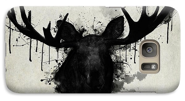 Bull Galaxy S7 Case - Moose by Nicklas Gustafsson