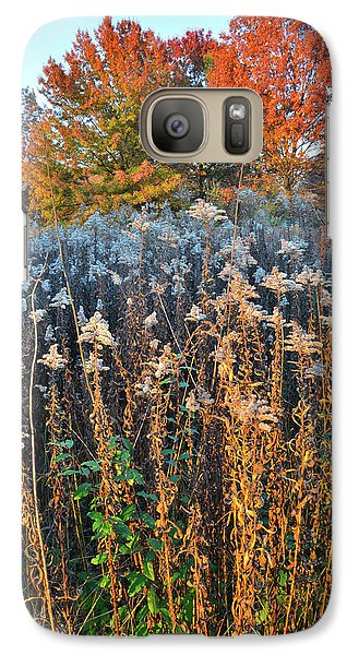 Galaxy Case featuring the photograph Moraine Hills Fall Colors by Ray Mathis