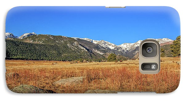 Galaxy Case featuring the photograph Moraine Park In Rocky Mountain National Park by Peter Ciro