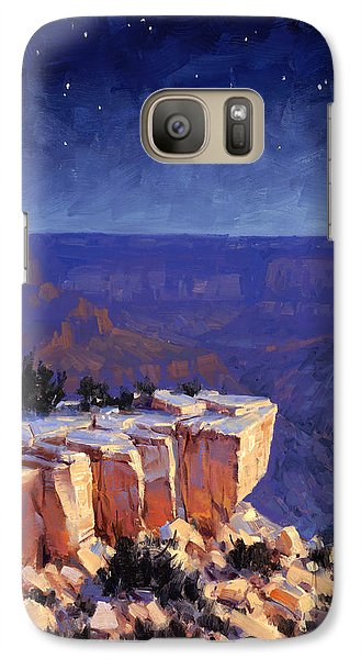 Grand Canyon Galaxy S7 Case - Moran Nocturne by Cody DeLong