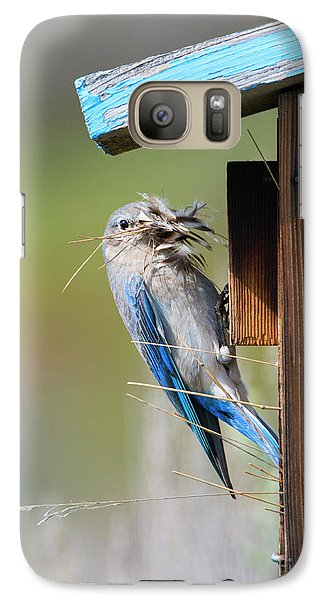 Galaxy Case featuring the photograph More Than Mouthful by Mike Dawson