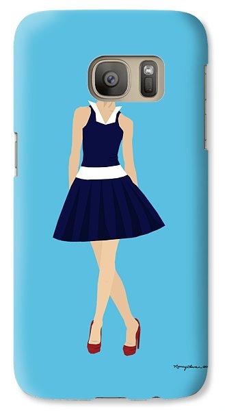 Galaxy Case featuring the digital art Morgan by Nancy Levan