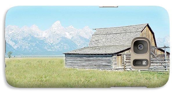 Galaxy Case featuring the photograph Mormon Row Barn - Grand Tetons by Joseph Hendrix