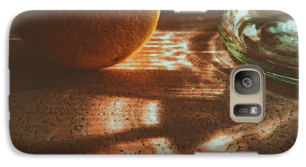 Galaxy Case featuring the photograph Morning Detail by Steven Huszar