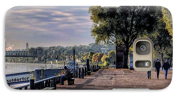 Galaxy Case featuring the photograph Morning Along The Rhine by Jim Hill