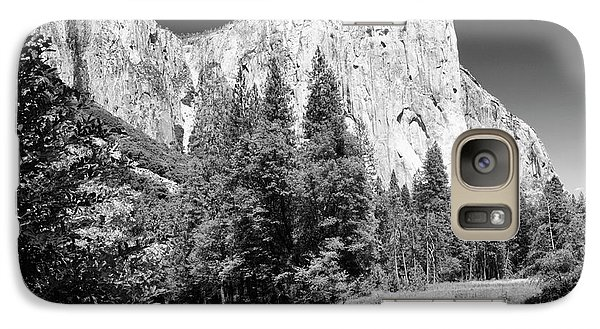 Galaxy Case featuring the photograph Morning At El Capitan by Sandra Bronstein