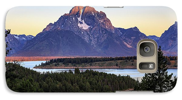 Morning At Mt. Moran Galaxy S7 Case
