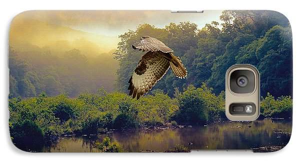 Galaxy Case featuring the photograph Morning Buzzard by Roy  McPeak