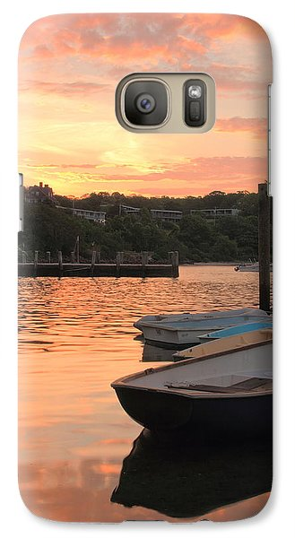 Galaxy Case featuring the photograph Morning Calm by Roupen  Baker