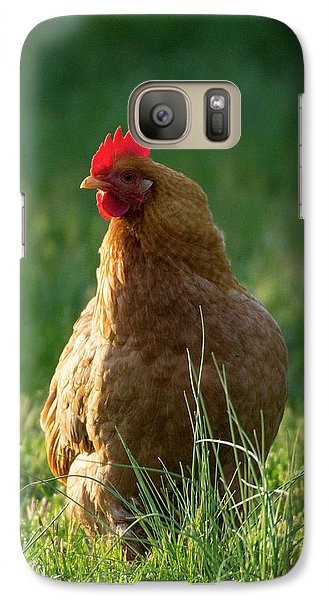 Morning Chicken Galaxy S7 Case