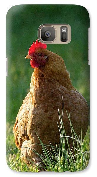 Morning Chicken Galaxy S7 Case