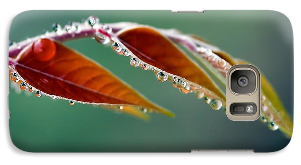 Galaxy Case featuring the photograph Morning Dew by Joerg Lingnau