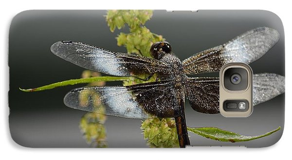 Galaxy Case featuring the photograph Morning Dew by Randy Bodkins