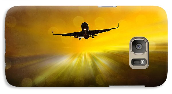 Galaxy Case featuring the photograph Morning Flight by Chris Armytage