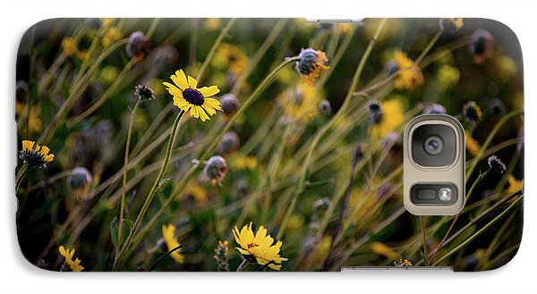 Galaxy Case featuring the photograph Morning Flowers by Kelly Wade