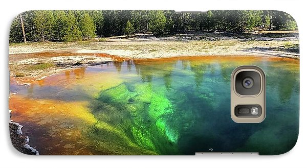 Morning Glory Pool Galaxy S7 Case