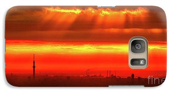 Morning Glow Galaxy S7 Case by Tatsuya Atarashi