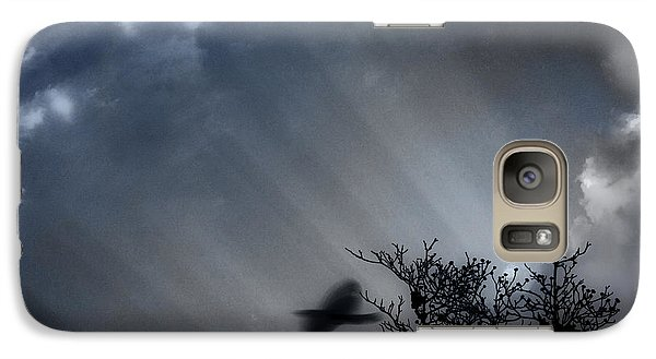 Galaxy Case featuring the photograph Morning  by Gray  Artus