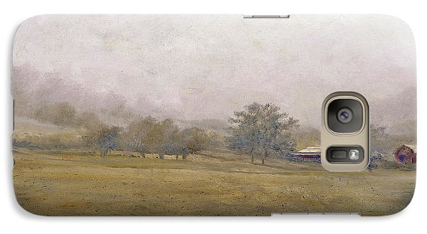 Galaxy Case featuring the painting Morning In Georgia by Andrew King