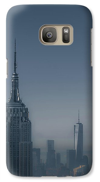 Morning In New York Galaxy Case by Chris Fletcher