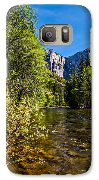 Yosemite National Park Galaxy S7 Case - Morning Inspirations 1 Of 3 by Az Jackson