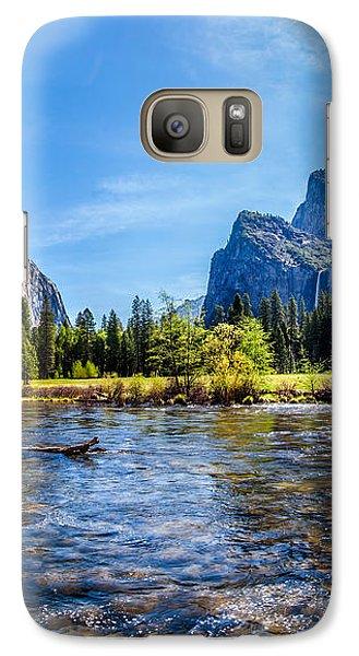 Yosemite National Park Galaxy S7 Case - Morning Inspirations 2 Of 3 by Az Jackson
