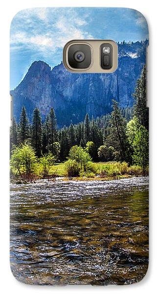 Yosemite National Park Galaxy S7 Case - Morning Inspirations 3 Of 3 by Az Jackson