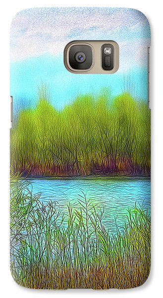 Morning Lake In Stillness Galaxy S7 Case