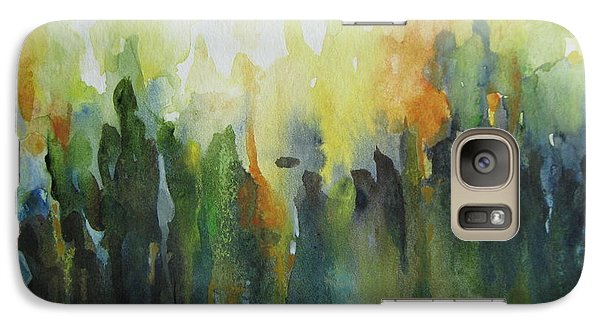 Galaxy Case featuring the painting Morning Light by Elena Oleniuc