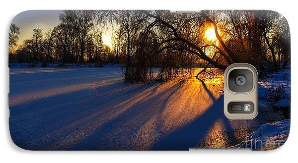 Galaxy Case featuring the photograph Morning Light by Franziskus Pfleghart
