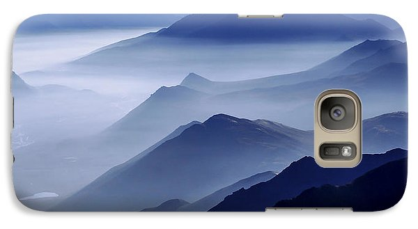 Mountain Galaxy S7 Case - Morning Mist by Chad Dutson