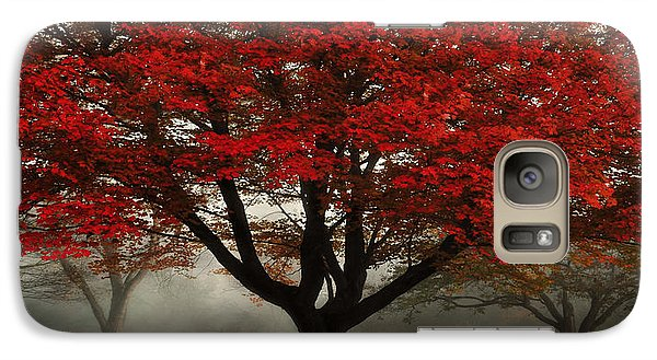 Galaxy Case featuring the photograph Morning Rays In The Forest by Ken Smith