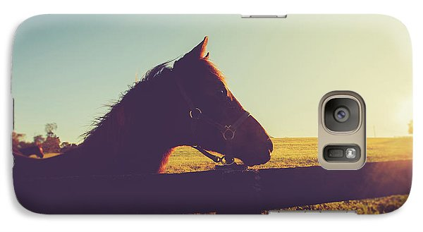 Galaxy Case featuring the photograph Morning  by Shane Holsclaw