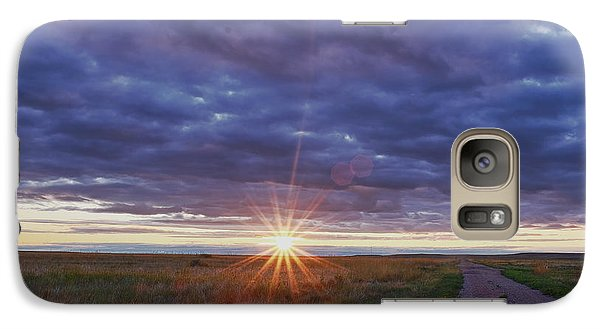 Galaxy Case featuring the photograph Morning Starburst by Monte Stevens