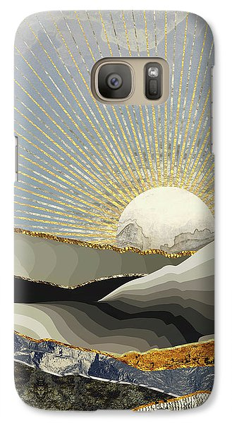 Landscapes Galaxy S7 Case - Morning Sun by Katherine Smit