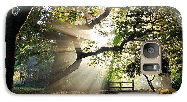 Morning Sunrise In Hampden Park Galaxy S7 Case