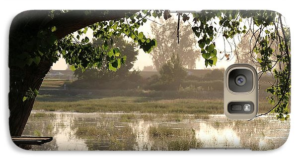 Galaxy Case featuring the photograph Morning Tranquility  by Christy Pooschke